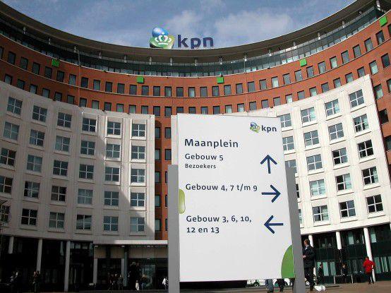 Die KPN-Zentrale in Amsterdam