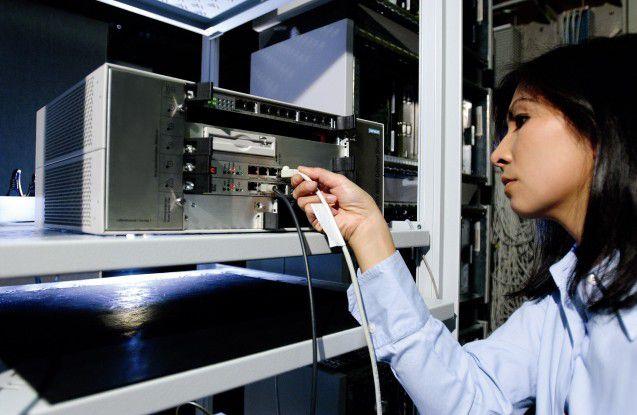Nach wie vor die Basis des SEN-Portfolios: Siemens Hipath-PBX