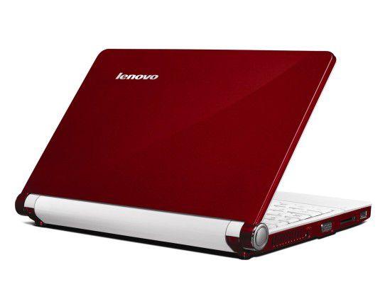 Recht schick mutet das IdeaPad S10 von Lenovo an, das ab Oktober auf den Markt kommt.