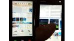 Nokia 5800 Tube: Symbian-Touch-Handy beim Browsen geknipst