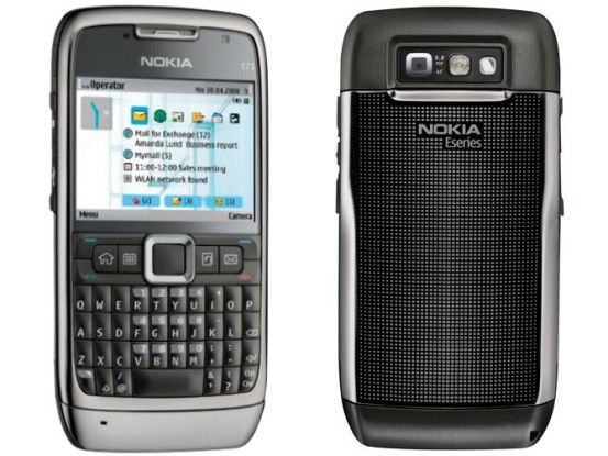 Neue Firmware verfügbar: Nokia E71.