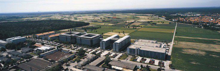 Panorama-Aufnahme der SAP-Zentrale in Walldorf