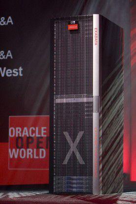 Um die Spannung zu steigern, hatte Oracle auf der OpenWorld zunächst nur von einem Produkt X gesprochen. Am letzten Tag der Veranstaltung wurde dann die neue Data-Warehouse-Appliance vorgestellt.