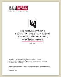 """Die Studie """"The Athena Factor"""" untersuchte die Arbeitsbedingungen für Frauen in Wissenschaft und Technologie."""