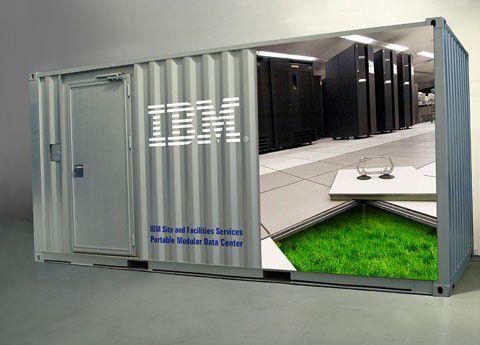 So stellt sich IBM sein Container-RZ vor.