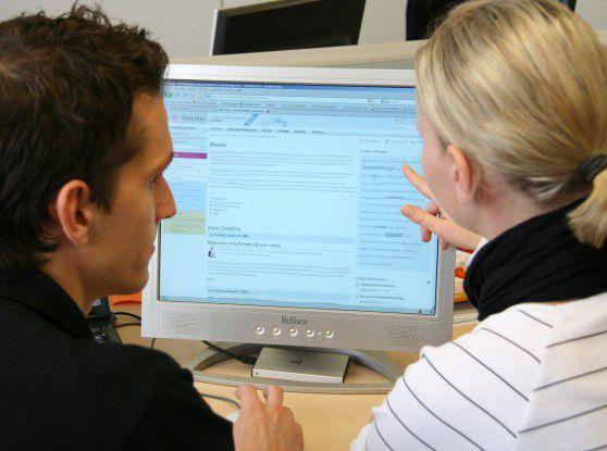 Mitarbeiter der Telekom-Multimedia-Tochter in Dresden teilen ihr Wissen im unternehmenseigenen Wiki.