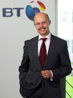 Sicherheitsexperte: Dr. Frank Kedziur leitet die IT-Securitysparte bei BT Global Services in Deutschland.