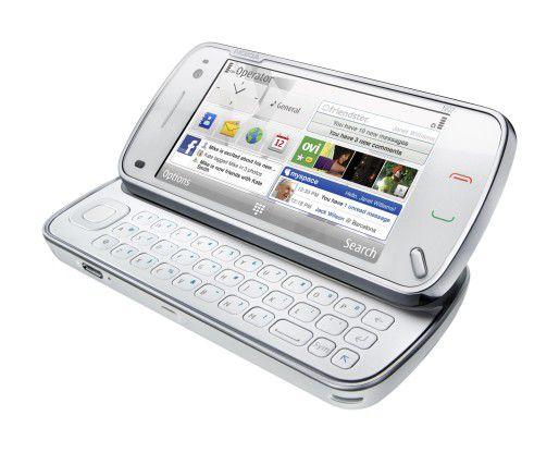 Kann sich sehen lassen, das neue N97 von Nokia.