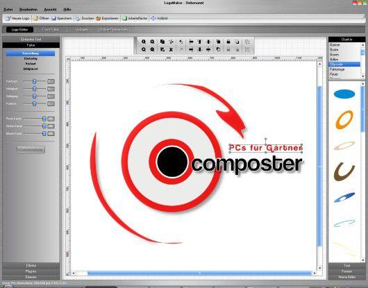 Insgesamt macht Logomaker einen guten Eindruck. Nur die fehlende EPS-Unterstützung stört etwas.