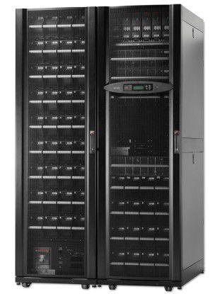Die Symmetra PX All-in-One 48kw bietet einen wirkunsggrad von 95 Prozent und eine Leistung von bis zu 48 Kilowatt.