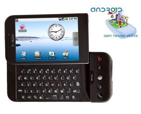 Das erster Google-Handy T-Mobile G1