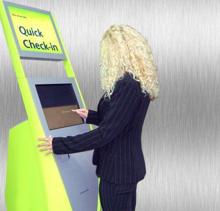 Von wegen Quick Check-in: Am Flughafen in Santa Fe hat die Technik ihre Grenzen.