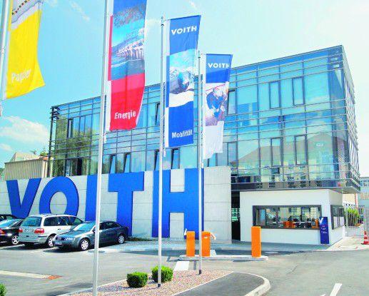 Das Firmengebäude der Voith AG in Heidenheim. Quelle: Voith AG