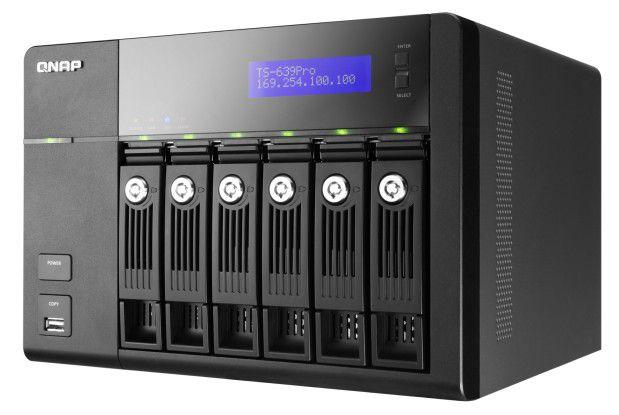 Der NAS-Server TS-639 von Qnap.