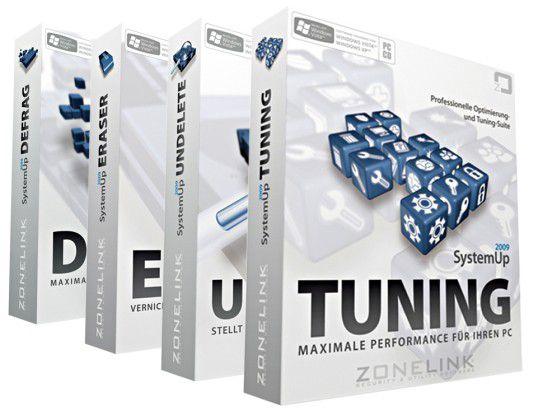 Gewinn für den ersten Autor eines kleinen Helfers: Das Programmpaket SystemUp von Zonelink.