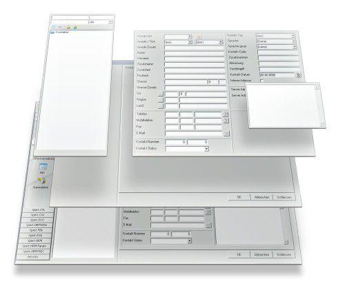 Xpert.Ivy erlaubt es, wieder verwendbare Dialogkomponenten flexibel zu kombinieren. Richdialogs nutzen dabei Funktionen und Daten von integrierten Geschäfts-applikationen.