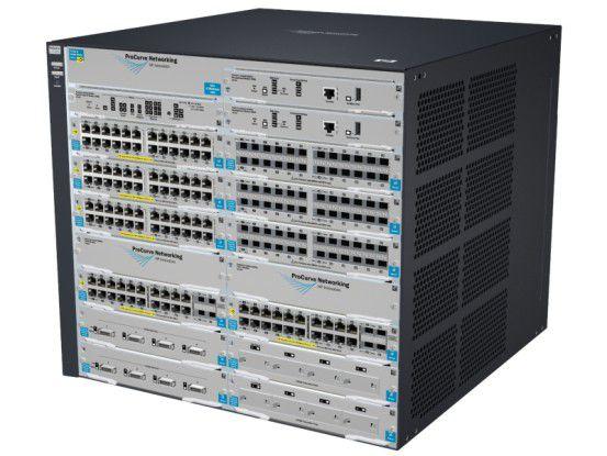 Der HP ProCurve 8212zl ist ein speziell für das Rechenzentrum entwickelter modularer Core, Distribution oder Server Access Switch.