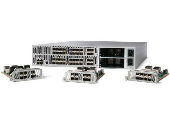Die Switches der Nexus-Reihe vereinen Daten- und Speichernetz.