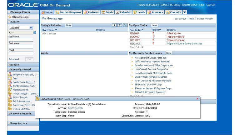 Oracle CRM On-Demand soll der Anwender über eigene Objekte erweitern können. Anpassbarkeit zählt zu den Defiziten von Software-as-a-Service-Lösungen.