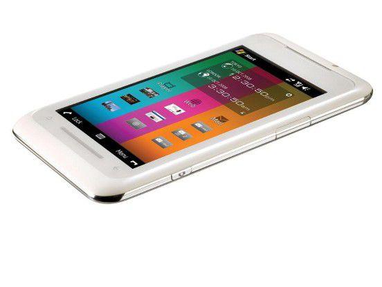 Das TG01 nutzt Windows Mobile 6.1