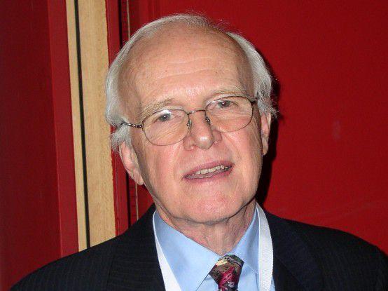 Projekt-Management-Experte Tom DeMarco ist Erfinder der strukturierten Analyse und Autor zahlreicher Bücher.