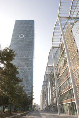Die Zentrale von O2 Germany in München