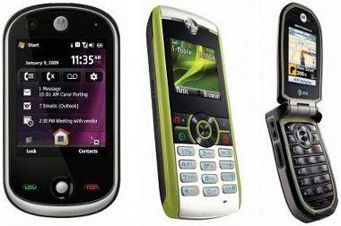 Drei kleine Hoffnungsträger für den angeschlagenen Konzern Motorola.
