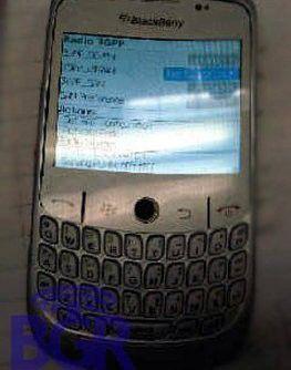 Blackberry Gemini 8325: Erstes Foto vom neuesten Volltastatur-Handy.