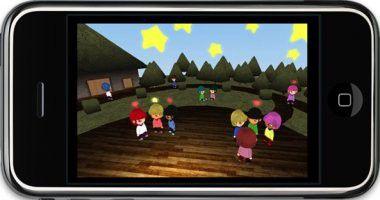 Erste virtuelle Welt nur fürs Handy: Sparkle 3D auf dem iPhone.