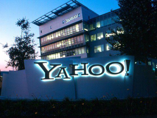 Yahoo!-Zentrale in Sunnyvale, Kalifornien
