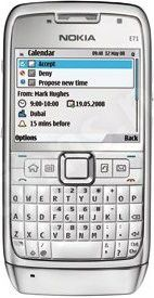 Für das Business-Smartphone Nokia E71 steht eine neue Firmware bereit.
