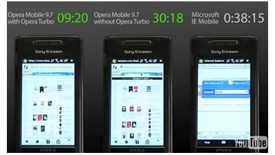Smartphone-Browser zündet den Turbo: Opera Mobile 9.7 angekündigt