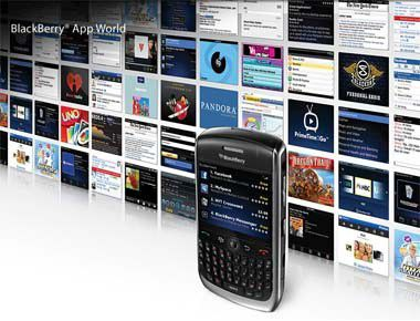 Nicht sexy, aber praktisch: Blackberry App World gestartet.