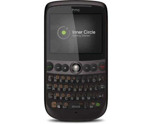 HTC Snap mit Inner Circle: Die wichtigsten Mails im Blick behalten.
