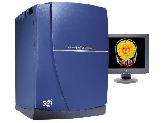 Eine Workstation 'Octane 2' aus besseren SGI-Zeiten