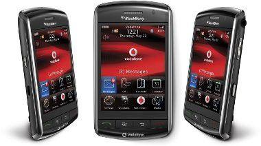 Auch nicht ohne Fehler: das Touchscreen-Modell Blackberry Storm plagen noch Kinderkrankheiten.