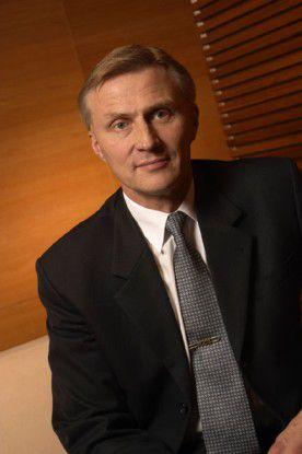 Anssi Vanjoki, Executive Vice President Markets von Nokia.