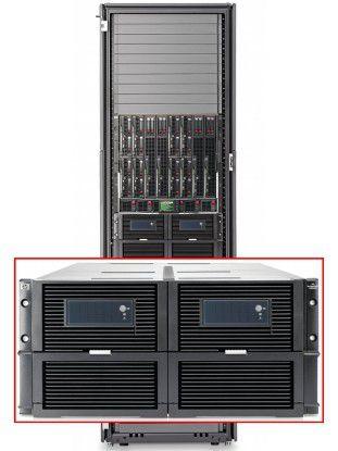 Mit dem HP StorageWorks MDS600 sollen Unternehmen ihren Speicherbedarf ohne großen Aufwand flexibel bedienen können.