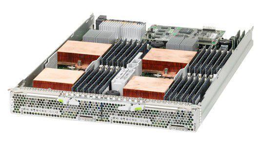 Das Servermodul Sun Blade X6275 unterstützt effiziente, leistungsstarke High-Performance-Anwendungen.
