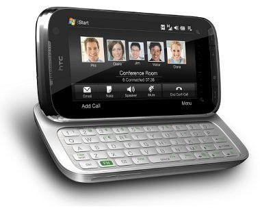 Für Hersteller neuer Smartphones mit Windows Mobile wird es nicht leicht. Bild: Das neue HTC Touch Pro 2