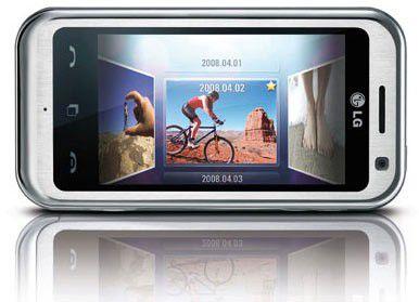 Das Touchscreen-Handy LG Arena ist der aktuelle Verkaufsschlager von LG.
