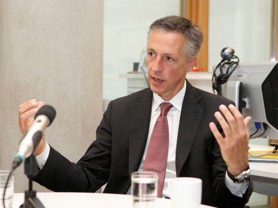 HP-Deutschlandchef Volker Smid
