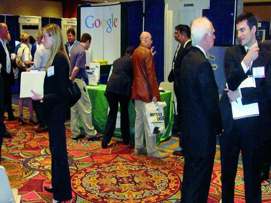 Auf dem diesjährigen Enterprise Search Summit trafen sich rund 200 Experten und IT-Spezialisten aus aller Welt. Foto: Jörg Fester