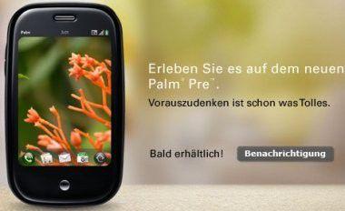 Soll vor allem dem Apple iPhone Nutzer abspenstig machen: Das Palm Pre.