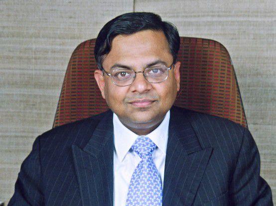 Natarajan Chandrasekaran wird Chef von Indiens größtem Softwarehaus.