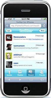 Twitter for iPhone bekommt Konkurrenz: INQ Mobile bringt Twitter-Handy zu Weihnachten.