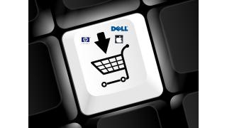 Umsatz im E-Commerce legt zu: Internet vor Innenstadt - Foto: Fotolia/LaCatrina