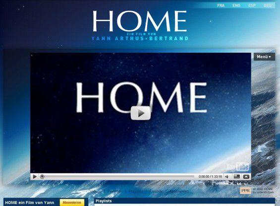 """Ein lehrreicher Film über den Zustand der Erde: """"Home"""" von Produzent Luc Besson und Regisseur Yann Arthus-Bertrand."""