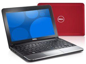 """Wir verlosen das Dell Inspiron Mini 10 in der Farbe """"Cherry Red""""."""