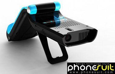 MiLi Pro: Mikro-Beamer mit Dock für das iPhone und den iPod Touch.